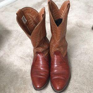 Nocona Exotic Lizard Boots.